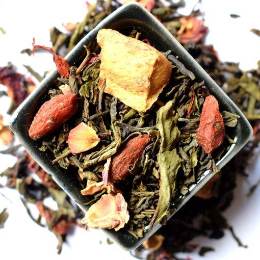 8 Secrets zaļā aromatizētā tēja