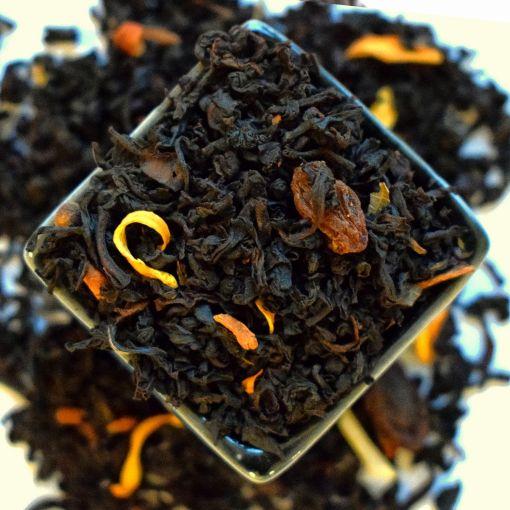 Альпийский пунш черный ароматизированный чай