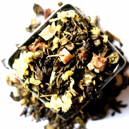 Austrumu Pasaka zaļā aromatizētā tēja