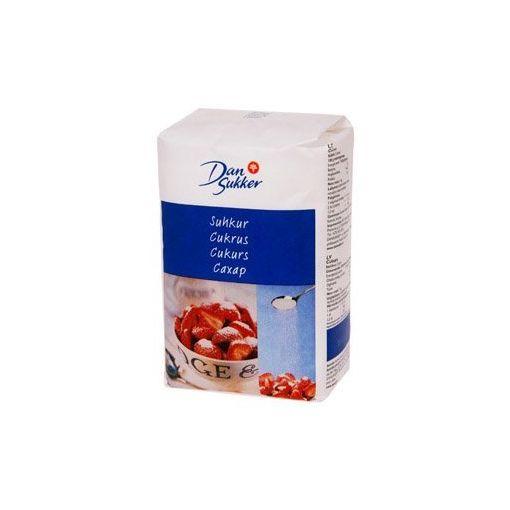 Cukurs DANSUKKER baltais, 1 kg