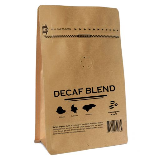 DECAF Blend, bezkofeīna kafija 200 g