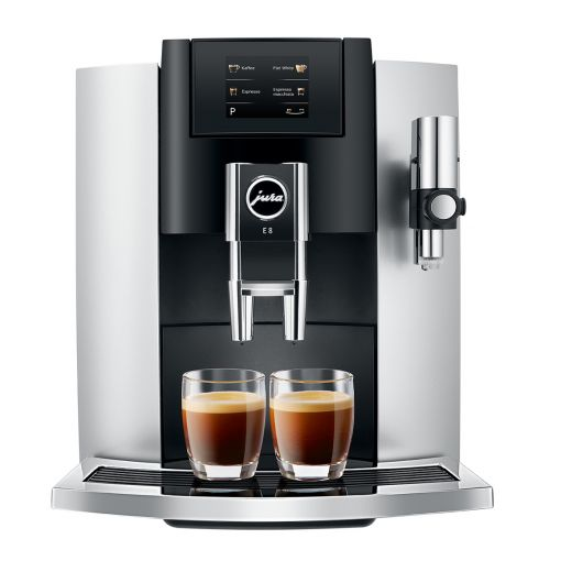 JURA E8 Touch Platin, kafijas automāts