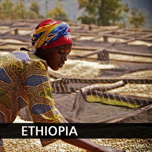 Etiopija (Ethiopia Kaffa) kafija, 1 kg