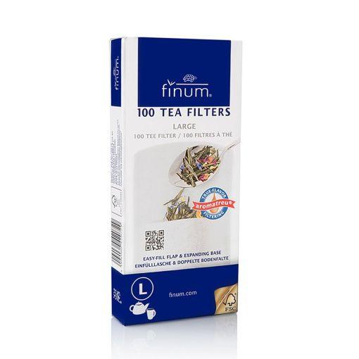 Фильтры для чая FINUM L, 100 шт.