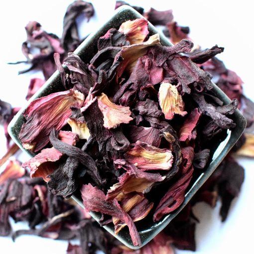 Цветы суданской розы (Hibiscus) фруктовый чай