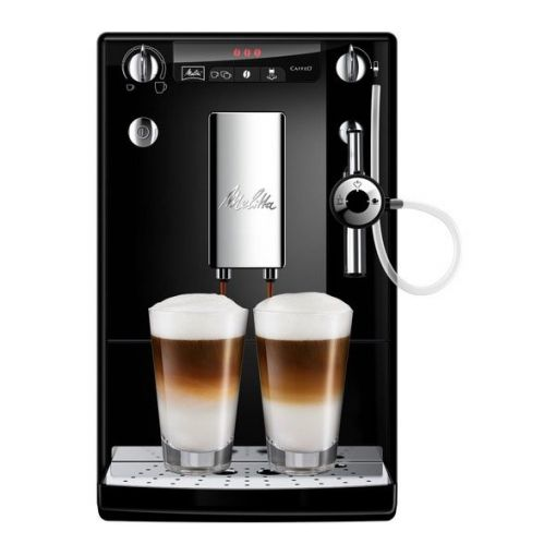 MELITTA CAFFEO Solo & Perfect Milk E957 kafijas automāts, melns