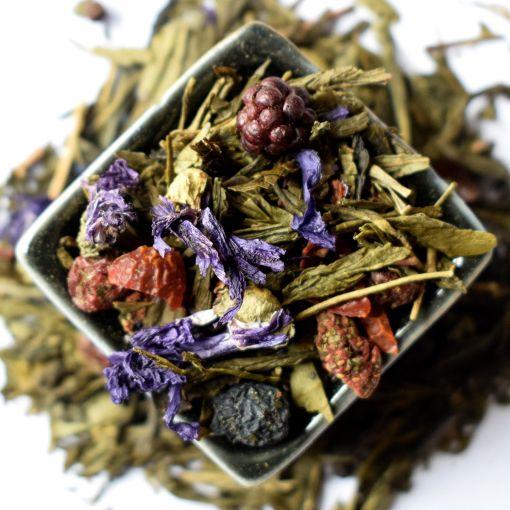 Meža Pavasaris zaļā aromatizētā tēja