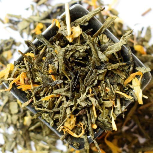 Peach, zaļā aromatizētā tēja