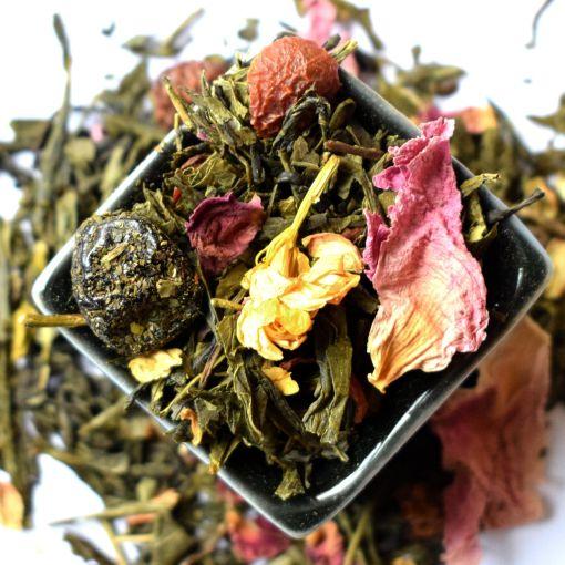 Sakuras Zars zaļā aromatizētā tēja