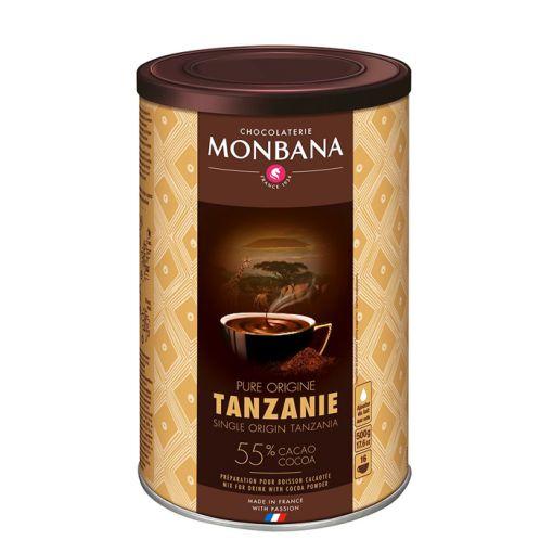 Karstā šokolāde Tanzania Pure Origin, 500g