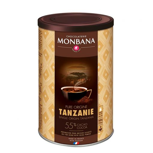 Горячий шоколад Tanzania Pure Origin, 500 г