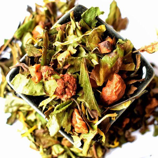 Zemeņu - Alveju  (Strawberry - Aloe) baltā tēja