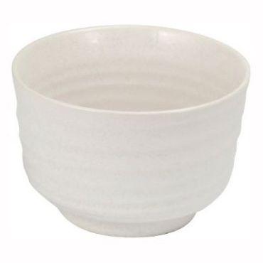 Matcha tējas trauks Chawan Beju, baltā krāsa