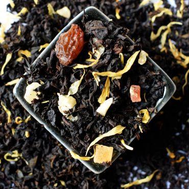 Гавайский коктейль черный ароматизированный чай